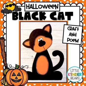 Halloween Black Cat: Halloween Crafts: Fall Crafts