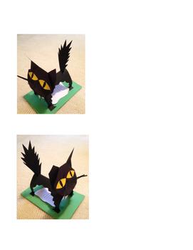 Halloween Black Cat with Poetry