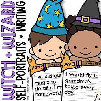 Halloween Blank Face Self-Portraits