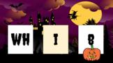 Halloween Blending Slides CVC/Blends/Digraphs