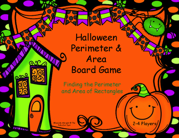 #HallowDeals Halloween Board Game: Area and Perimeter