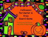 Halloween Board Game: Area and Perimeter