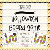 Halloween Board Game {FREEBIE}