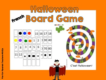 Halloween Board Game {French}