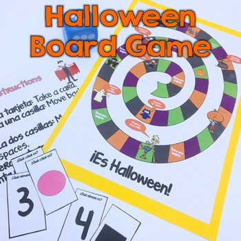 Halloween Board Game {Spanish}