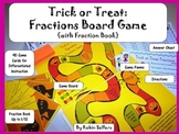 Halloween Board Game: {Trick or Treat Fraction Game for Math Centers}