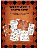 Halloween Game Kindergarten Letter Sounds, CVC Words, and Blank Cards