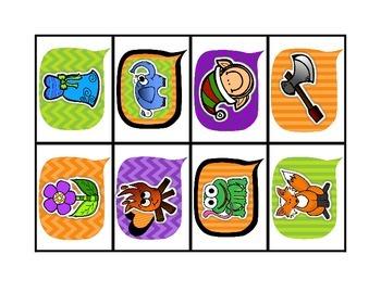 Halloween Board Games {{Dolche Words & Beginning/Ending Sounds}}