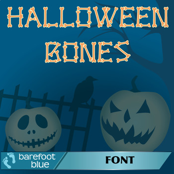 Halloween Bones – Font for Personal and Commercial Use