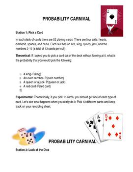Probability Carnival Game