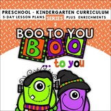 Halloween: Boo To You! (5-day Thematic Unit