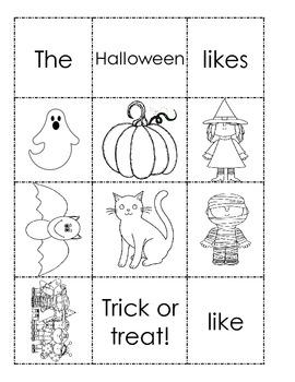 Halloween Book Activity
