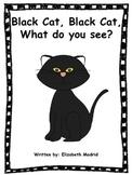 Halloween Book /Black Cat, Black Cat