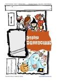 Halloween Book - Grade 1/2 - FRENCH - Cahier Halloween