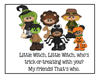 Halloween - Little Witch, Little Witch, Who's Trick-Or-Treating With You?