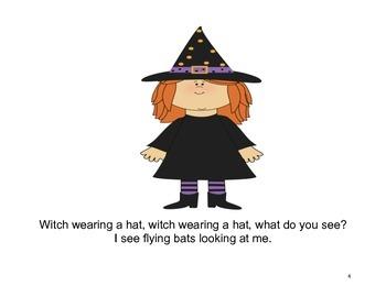 Halloween Book - PRE-K/AUTISM