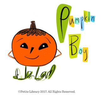 Halloween Book- Pumpkin Boy (English Story ebook)