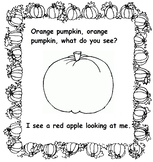 Halloween Book: Pumpkin, Pumpkin, What Do You See?