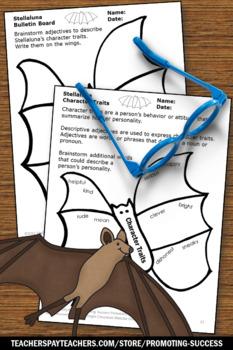 Stellaluna Writing Activities, Friendly Letter Writing Rubric, Halloween Book