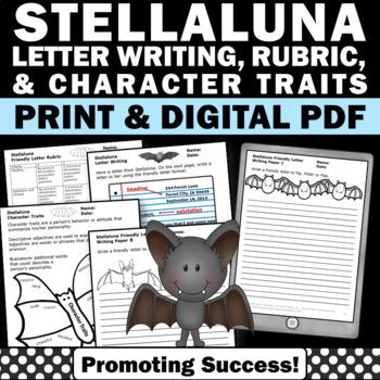 Stellaluna Activities, Halloween Writing Activities, Frien