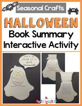 Halloween Craft - Book Summary - Ghost Edition - Seasonal Crafts