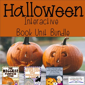 Halloween Book Unit Bundle