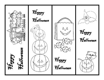 Halloween Bookmarks