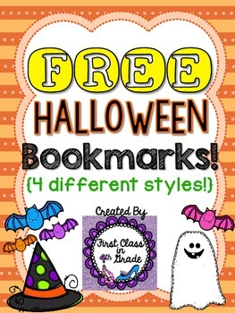 Halloween Bookmarks (Free)