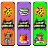 Halloween Bookmarks - Happy Halloween!