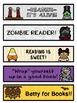 Halloween Bookmarks (For Your Zombie Readers!)