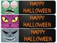 Halloween Bookmarks - Monsters