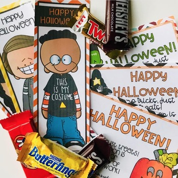 Halloween Bookmarks and Homework Coupons