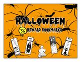 Halloween Bookmarks to reward reading! Set of 36