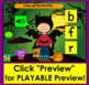 Boom Cards™ Halloween Alphabet Lowercase Letter Recognition - With Sound!