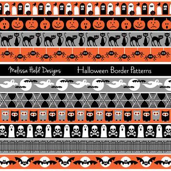 Clipart: Halloween Border Clip Art