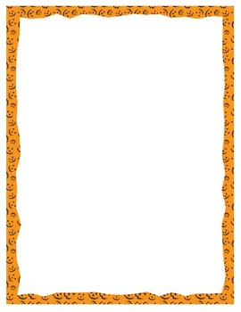 halloween borders and frames for powerpoint and paper tpt