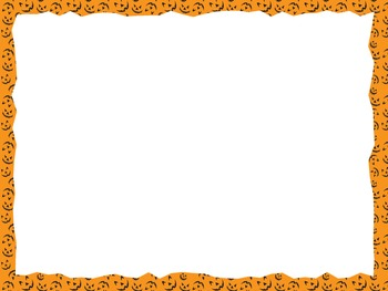 Halloween Borders and Frames for PowerPoint and Paper | TpT