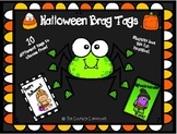 Halloween Brag Tags - 10 Different Incentive Tags - Classr