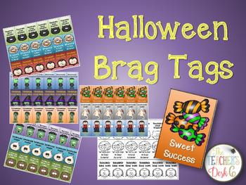 Halloween Brag Tags for Older Kids