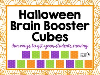 Halloween Brain Booster Cubes