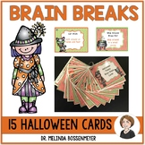 Halloween Brain Break Cards