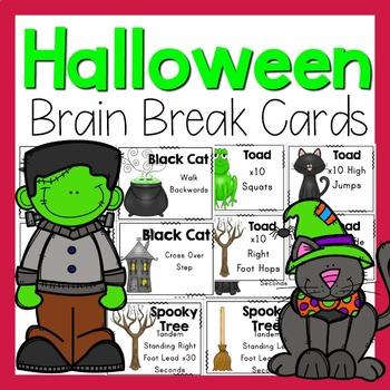 Halloween Brain Breaks - Halloween Activity