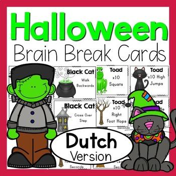 Halloween Brain Breaks DUTCH