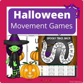 Halloween Activities - Brain Breaks, Yoga, and Games