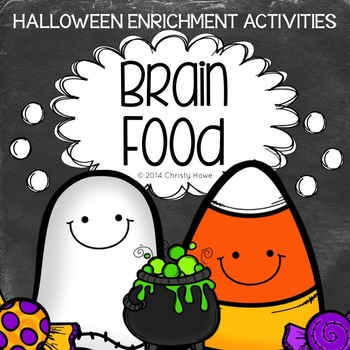Brain Food: Halloween! Printable Activities for Creative Thinking