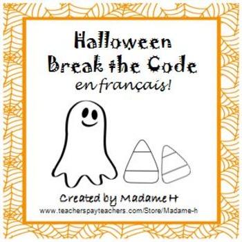 Halloween Break the Code en Français!