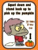 Halloween Breaks for the Classroom- 20 Movement Breaks