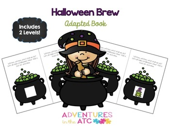 Halloween Brew Adapted Book
