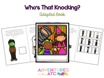 Who's That Knocking? Adapted Book