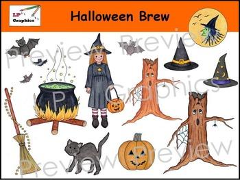 Halloween Brew Clip Art